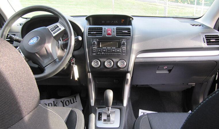 2014 Subaru Forester Dash