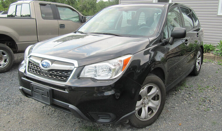 A and W 2014 Subaru Forester
