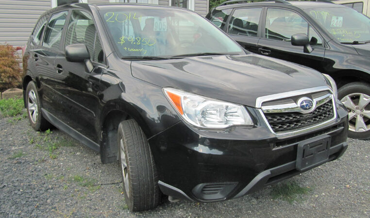 A & W Black 2014 Subaru Forester