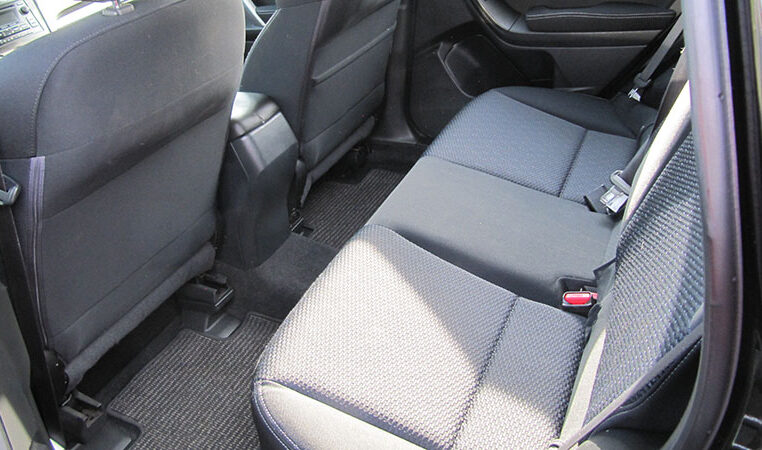 A and W Black 2015 Subaru Forester Black Backseats